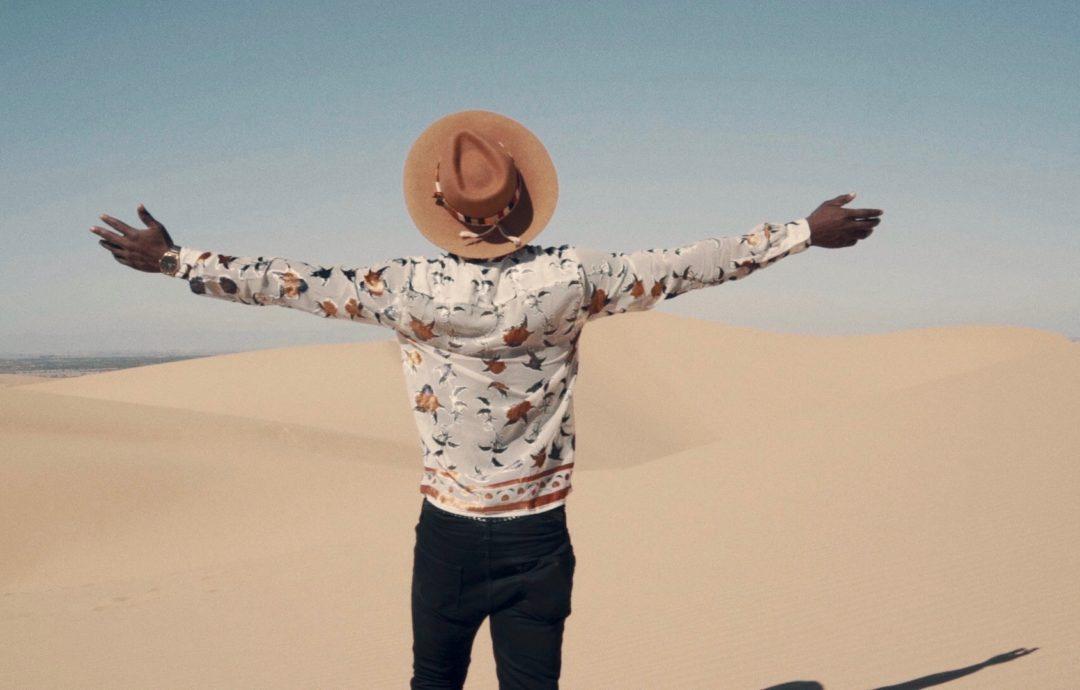 A Walk in Glamis Sand Dunes