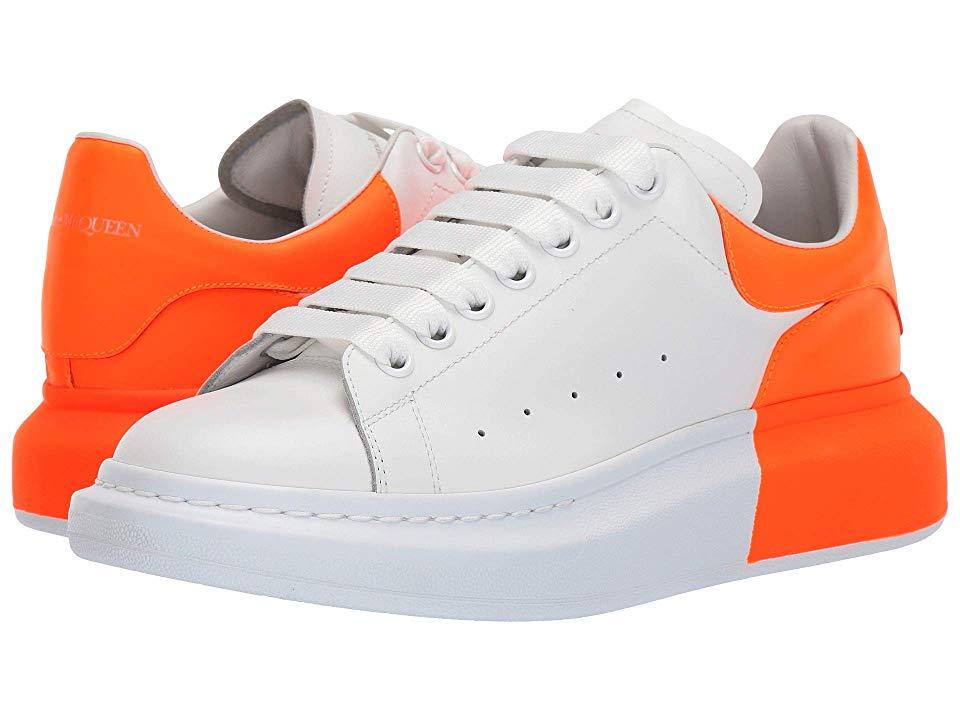 white alexander mcqueen sneakers